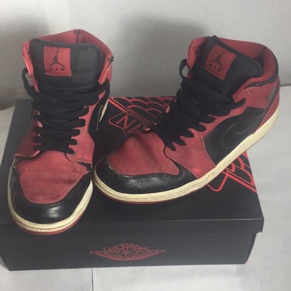 outlet store b4474 5312a Nike Air Jordan 1 Bred | Size 11.5 Retro High OG